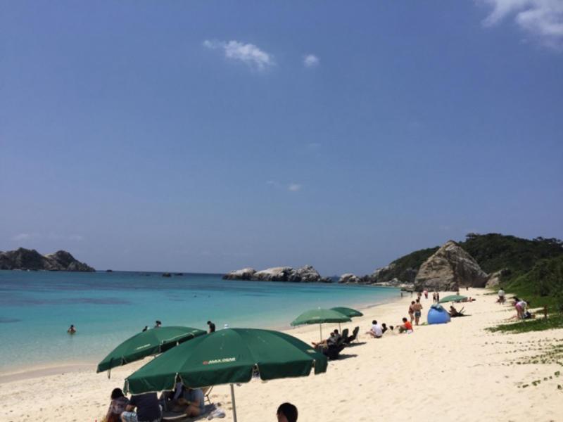 Aharen Beach, Tokashiki