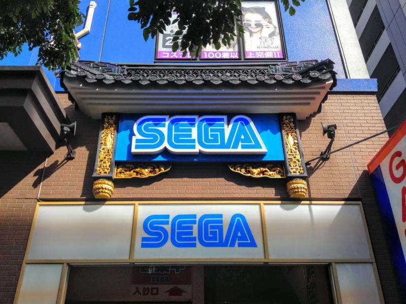 Sega Shop Sotre Led Light Sign