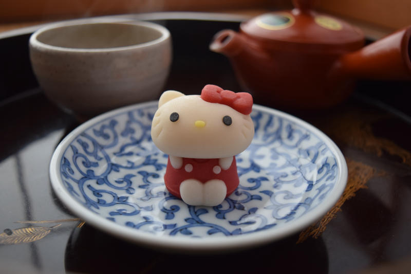 One For The Sanrio Fans Hello Kitty Amp Pompompurin Wagashi