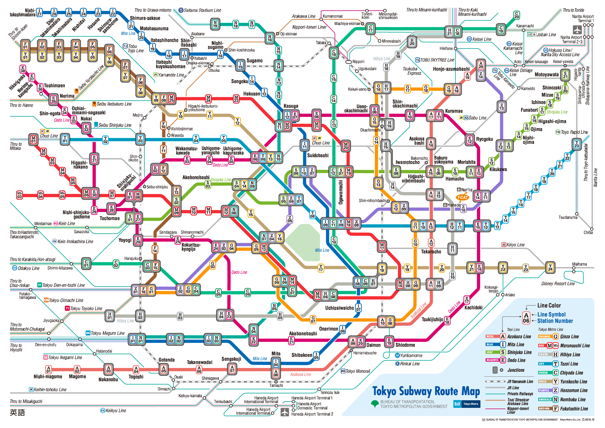 Creative Subway Map.Top 10 Punto Medio Noticias Tokyo Map Subway