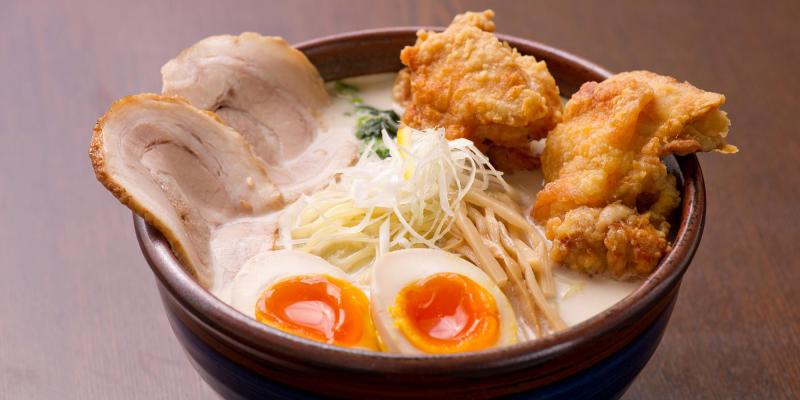A Match Made in Heaven – Shibuya's Fried Chicken Ramen | Tokyo Creative