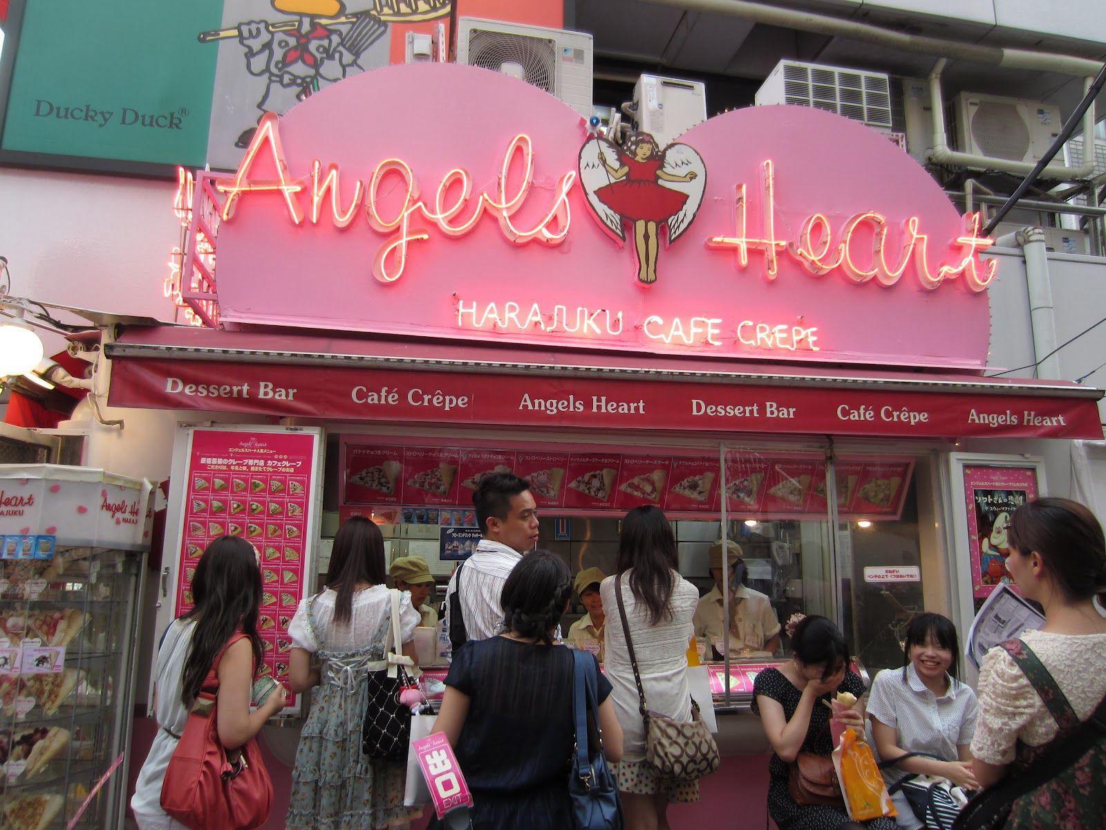 Resultado de imagen para Angels Heart harajuku
